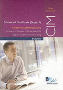 MARKETING COMMUNICATIONS ADV. CERT. 2, Paperback Book