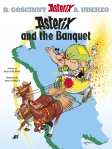Asterix and the Banquet, Hardback Book