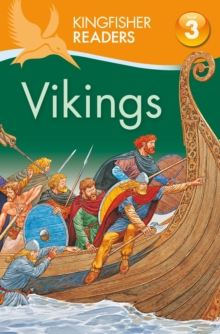 Kingfisher Readers Level 3: Vikings, Paperback Book
