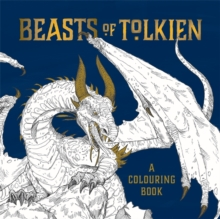 Beasts of Tolkien: A Colouring Book, Paperback Book