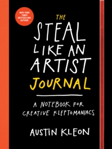 The Steal Like An Artist Logbook, Paperback Book