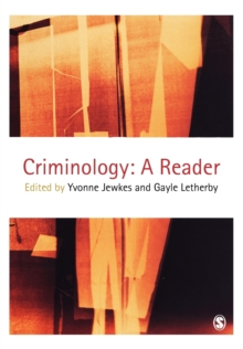 Criminology : A Reader, Paperback Book