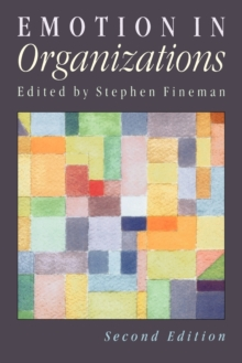 Emotion in Organizations, Paperback Book