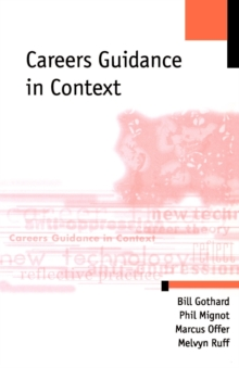 Careers Guidance in Context, Paperback Book