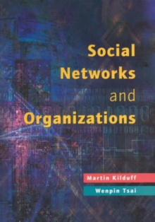 Social Networks and Organizations, Paperback Book