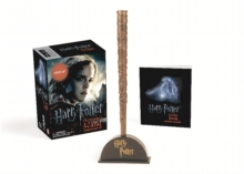 Harry Potter Hermione's Wand with Sticker Kit : Lights Up!, Mixed media product Book