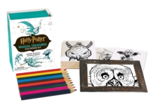 Harry Potter Magical Creatures Coloring Kit, Mixed media product Book