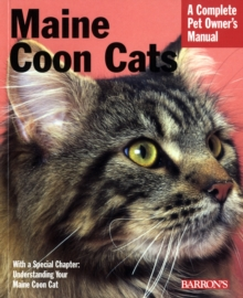 Maine Coon Cats, Paperback Book