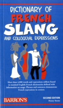 Dictionary of French Slang, Paperback Book