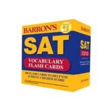 Sat Vocabulary Flash Cards, Kit Book