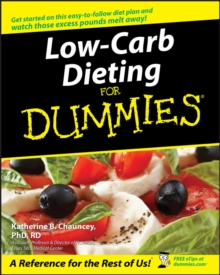 Low-Carb Dieting For Dummies, Paperback Book