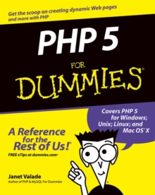 PHP 5 for Dummies, Paperback Book