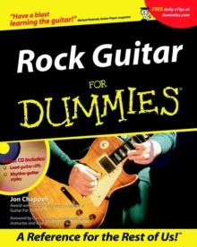 Rock Guitar For Dummies, Paperback Book