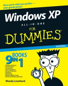 Windows XP All-in-One Desk Reference For Dummies, Paperback Book