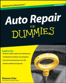 Auto Repair for Dummies, 2nd Edition, Paperback Book