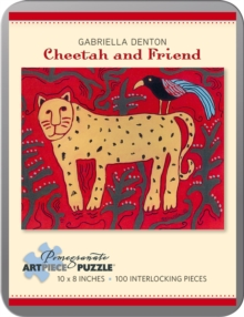 Cheetah and Friend Gabriella Denton 100-Piece Jigsaw Puzzle