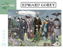 Edward Gorey 1000-Piece Jigsaw Puzzle Aa820, Other merchandise Book