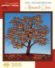 Paul Heussenstamm Monarch Tree 300-Piece Jigsaw Puzzle