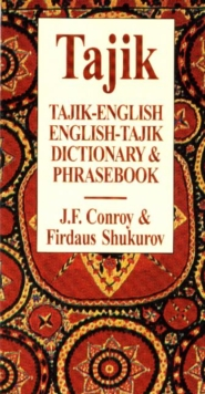 Tajik-English / English-Tajik Dictionary & Phrasebook, Paperback Book