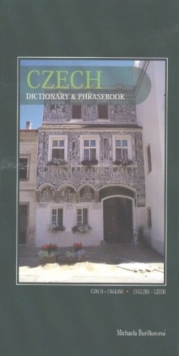 Czech-English / English-Czech Dictionary & Phrasebook, Paperback Book