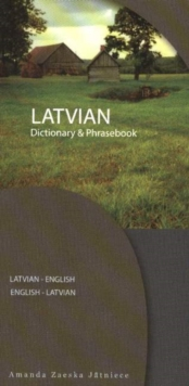 Latvian-English / English-Latvian Dictionary & Phrasebook, Paperback Book