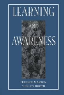 Learning and Awareness, Paperback Book