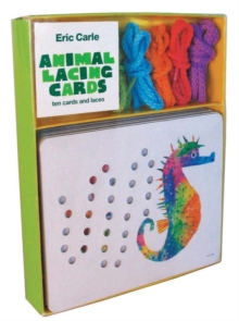 Eric Carle Animal Lacing Cards : Ten Cards and Laces, Novelty book Book