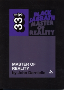 Black Sabbath : Master of Reality, Paperback Book