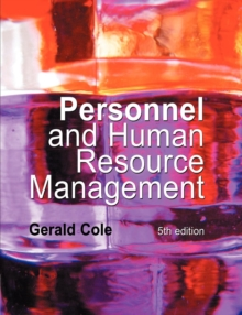 Personnel and Human Resource Management, Paperback Book