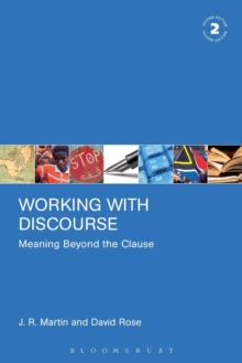 Working with Discourse - Meaning Beyond the Clause, Paperback Book