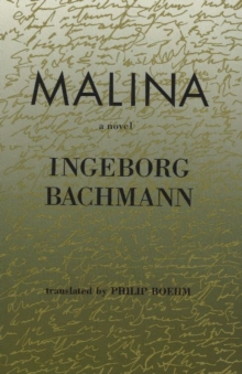 Malina : A Novel, Paperback Book