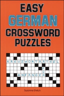 Easy German Crossword Puzzles, Paperback Book