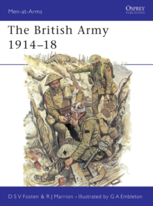 The British Army, 1914-18, Paperback Book