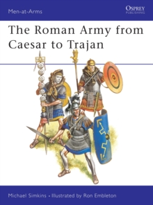 Roman Army from Caesar to Trajan, Paperback Book
