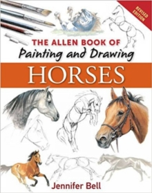 The Allen Book of Painting and Drawing Horses, Paperback Book