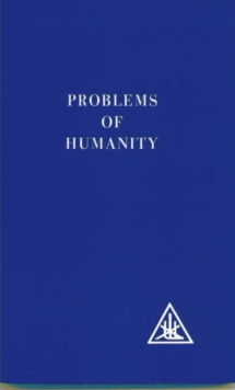 Problems of Humanity, Paperback Book