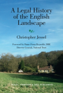 A Legal History of the English Landscape, Hardback Book