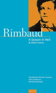 A Season in Hell : and Other Poems, Paperback Book