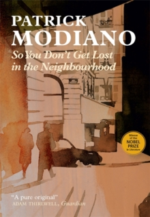 So You Don't Get Lost in the Neighbourhood, Paperback Book