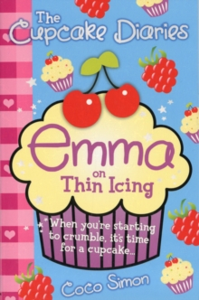 The Cupcake Diaries: Emma on Thin Icing, Paperback Book