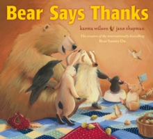 Bear Says Thanks, Paperback Book