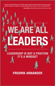 We Are All Leaders, Paperback Book