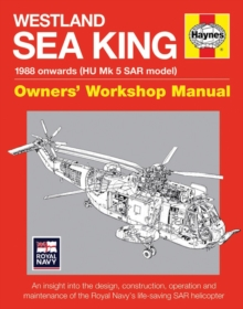 Westland SAR Sea King Manual, Hardback Book