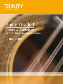 Guitar Exam Pieces Grade 1 2010-2015, Sheet music Book