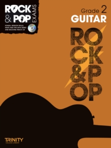 Trinity Rock & Pop Exams: Guitar Grade 2, Mixed media product Book