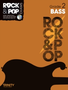 Trinity Rock & Pop Exams: Bass Grade 2, Mixed media product Book