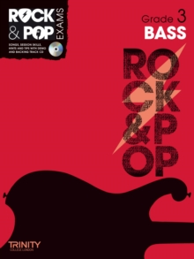 Trinity Rock & Pop Exams: Bass Grade 3, Mixed media product Book