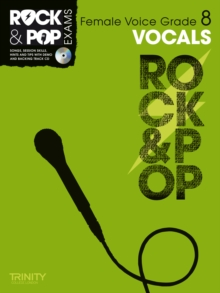 Trinity Rock & Pop Exams: Vocals Grade 8 (Female Voice), Mixed media product Book