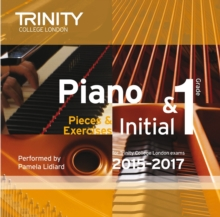 Piano Initial 2015-2017 : Grade 1, CD-Audio Book
