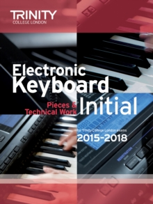 Electronic Keyboard Initial from 2015, Paperback Book